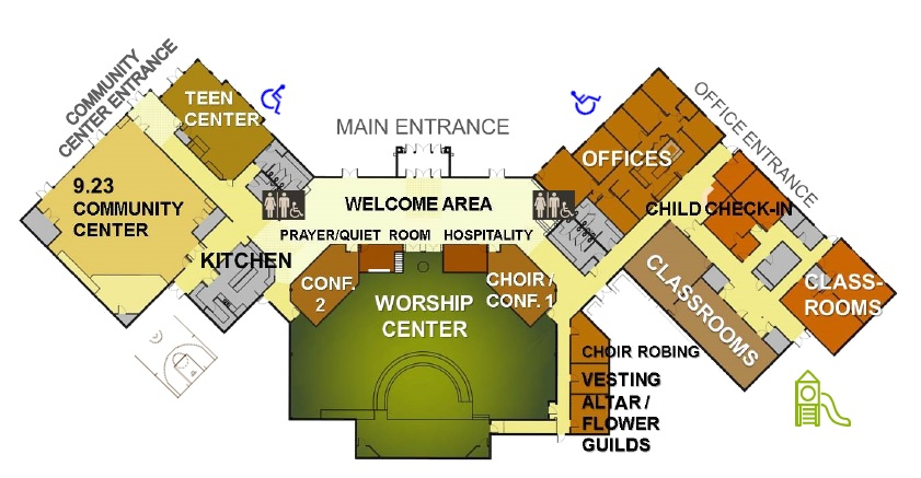 Christ Church Map
